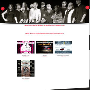 DETC Theatre's Website