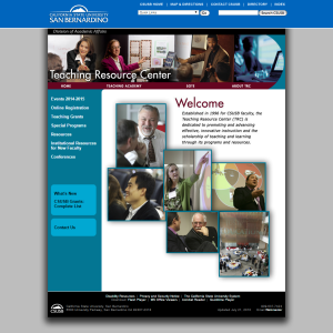 CSUSB's TRC Website
